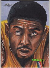 2014 BEST OF BASKETBALL JIM KYLE SKETCH: KYRIE IRVING #1/1 OF ONE TEAM USA