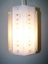 Alte Hängelampe, Glashängelampe Küchenlampe, Glas Lampe 50er Jahre