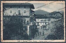 BIELLA VALLE SAN NICOLAO 01 Frazione FERRERE Cartolina viaggiata 1949 - DIFETTI
