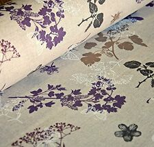 Oilcloth Table Fabric French French Wild Cow Parsley Toile Print