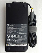 Original Genuine OEM 170W AC Adapter Charger for Lenovo ThinkPad W530/i7-3920XM