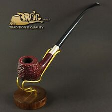 "Mr.Brog original HAND MADE long smoking pipe nr. 59 red full carved "" HOBBIT """