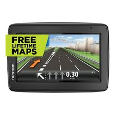 TOMTOM START 25 M  5 INCH  GPS SAT NAV- UK & IRELAND MAPS LIFETIME MAPS