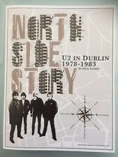 U2 North Side Story In Dublin 1978-1983 Book Poster Map 2015 Fan Club Exclusive