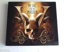 Metal for the Masses V 5 - 2 CD's + DVD Metal