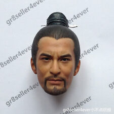"""1/6 Scale Head Sculpt Huang Xiaoming as Yue Fei fit 12"""" hot toys body figure"""