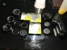 Canon VL-10Li II, Vello LHC-ES62 lens hood, Nikon c-pl II filters, and more!