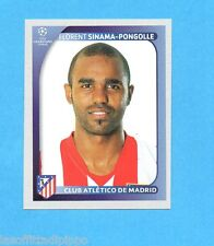 PANINI-CHAMPIONS 2008/2009-Fig.90- SINAMA PONGOLLE - ATLETICO MADRID -NEW BLACK