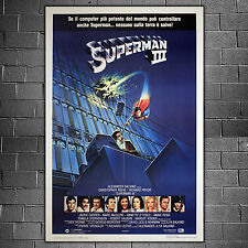 Original Poster Superman III - Christopher Reeve - Size: 100x140 CMi