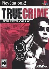 True Crime: Streets of L.A. (Sony PlayStation 2, 2003) Brand New