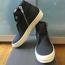 Super cool RICK OWENS Island Dunk Trainers Sz 42 UK 8 Black WB