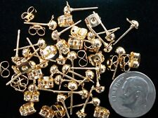 48 Pc dangle post earring findings with clutches fpe005