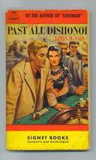 Past All Dishonor--James M. Cain--Signet,  1949
