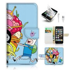iPhone 5 5S Flip Phone Case Cover PB10985 Adventure Time