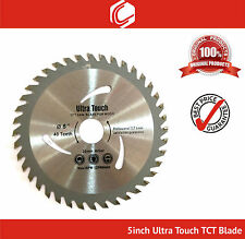"Ultra Touch 5"" (125mm) x 40 Teeth TCT Saw Blade"