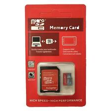 128GB MICRO SD MEMORY CARD WITH ADAPTER CASE MOBILE PHONE DASH CAM MP3