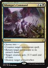 SILUMGAR'S COMMAND Dragons of Tarkir MTG Gold Instant Rare