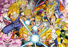 DRAGON BALL Z - SUPER SAIYANS - POSTER PRINT - WALL ART BUY 2 GET 1 FREE
