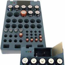 Batterieaufbewahrung und Ladesystem für Akkus und Batterien mit Batterietester