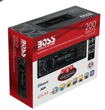 Boss 625UAB Single-DIN Digital Media Car Stereo w/ Bluetooth Low $