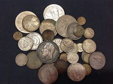 Exceptional Lot of Mixed Silver Foreign World Coins! – A wonderful mix