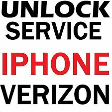 Factory Unlock Service Verizon iPhone SE 6s 6s Plus + 6 6 Plus 5s 5c 5 4s 4 3gs