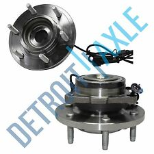 Pair: 2 New FRONT Driver and Passenger Wheel Hub Bearing - w/ ABS Hummer H3 Set