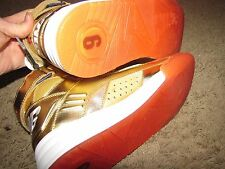 "EWING ""Patrick Ewing 6"" 33 Hi Men Shoes Size 9 1EW90151-732 Gold Medal USA"