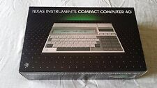 Texas Instruments CC-40 package in nice condition