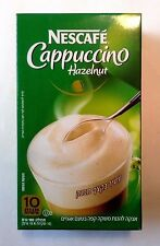 NESCAFE CAPPUCCINO HAZELNUT COFFEE 10 x 18 gr. from NESTLE