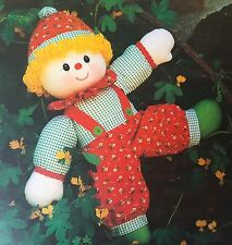 SEWING PATTERN Jean Greenhowe Clown Toy Clothes Hat Childrens 56cm Tall PATTERN