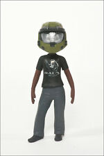 Halo Avatar Series 2 Figure by McFarlane - Anniversary Helmet and Tee