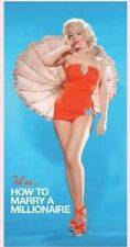 Marilyn Monroe Beach and Bath Towel - How to Marry a Millionaire Blue Swim