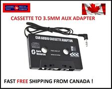 Car Radio Cassette Tape Adapter for iPod, iPhone, Android, MP3, Tablet, etc
