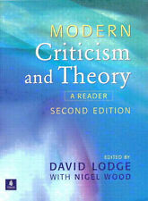 Modern Criticism and Theory: A Reader,GOOD Book