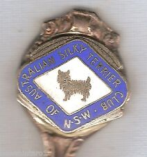 #D47. Dog Collector Spoon - Nsw Australian Silky Terrier Club