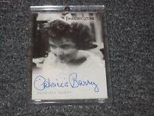 Twilight Zone Patricia Barry Autograph Card