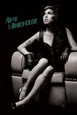 Amy Winehouse Poster - Chair - New Amy Winehouse B&W music poster PP33687