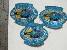 SET , ARVN ADVISOR , COAST GUARD , , SET PATCHES