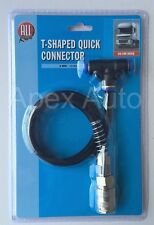 Truck HGV Lorry Compressed Air Line T-Shaped Quick Connector Extension 6mm Hose