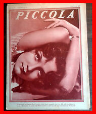 1935 - PICCOLA magazine SIMONE SIMON BETTY GRABLE OLIVIA DE HAVILLAND SILVANA JA