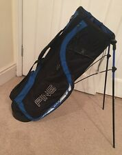 Ping Lightweight Carry/Stand Bag in Blue And Black. Mit-E-Lite.