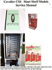 Cavalier Coca Cola Soda Vending Machine Service Manual  pepsi