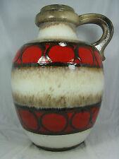70´s design Scheurich pottery floor vase Keramik Boden Vase 486 - 48 cm