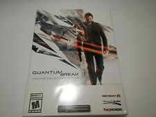 Quantum Break: Timeless Collector's Edition - PC Video Game (Brand New)