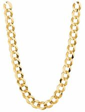 """14k Solid Yellow Gold Comfort Curb 22"""" 4.7 MM 13.2 GRAMS  chain/Necklace CC120"""
