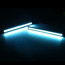 DRL 2X LED COB Car  Driving Daytime Running Lamp Fog Light Ice Blue Waterproof