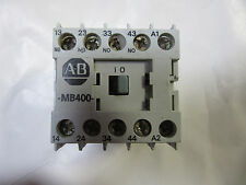 Allen Bradley 700-MB400* 10 Amp Control Relay MB400 Coil 120V VGC! Free Shipping