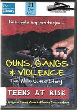 Teens at risk. Guns, Gangs & Violence (DVD) Ex Library