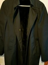 New Old Stock Vintage Richman Brothers Fully Lined Trench Coat Jacket 40 Short